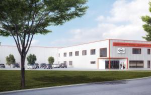 Neubau Bürogebäude mit Fachmarkt