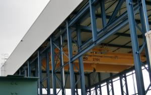 Neubau 210t Hofkrananlage