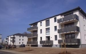 Neubau von zwei 7-Familienhäuser