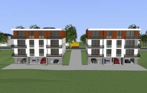 Neubau von 2 6-Familiehäusern in Pirna