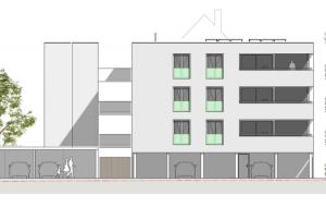 Neubau MFH in Heidenau