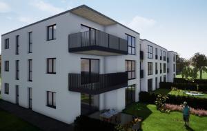 Neubau Mehrfamilienhaus in Pirna